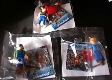LOT 3  PLAYMOBIL   PERSONNAGE  QUICK   FERMIER &  LAITIERE &  LAPIN   ( neuf )