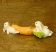 "Top Collection Enchanted Story Fairy Garden #4127 RABBITS w/ CARROT, 1"" x 3.5"""