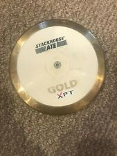 New listing Stackhouse Gold/White Discus - 1.6 kilo Hs discus - Lightly Used