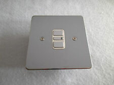 Acel 300w/va 1 Gang 2 VIE Dimmer elettronico-PIASTRA PIANA cromato lucido