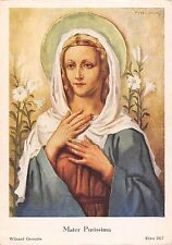 B99143 mater purissima wijnand geraedts painting Madonna  religious postcard