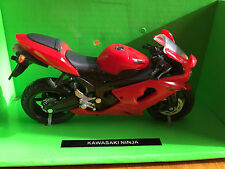 NewRay 1:18 Scale Die-Cast KAWASAKI NINJA Collection Motorcycle Model Gift