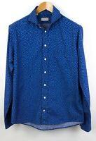 ETON Men Slim Fit Casual Shirt Size 41 (16) TZ55