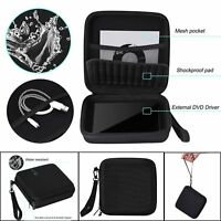 Portable Carry Case Cover Bag for CD DVD Writer Blu-Ray & External Hard Drive
