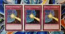 Yu-Gi-Oh! 3x Ertränkende Spiegelkraft LEDD-DEB24 Deutsch! TOP Zustand! 1.Auflage