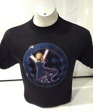 Círculo de Madonna para Hombre Medio Camiseta para hombre negro