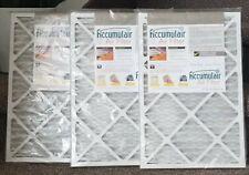 "Platinum Accumulair Air Filters 18""x12""x1"" New Merv 11"
