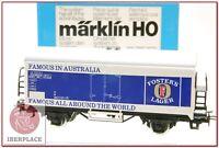 H0 1:87 ho trenes maqueta Märklin 4562 vagon mercancias AC Fosters beer