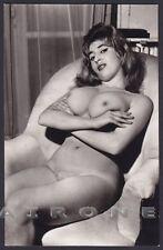 EROTISMO RISQUE NUDE - FRENCH WOMAN 41 EROTIC REAL PHOTO Postcard Ed. VERONIQUE