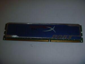 Kingston HyperX blu. 1 x 4GB DDR3 RAM Memory 1333 10600U Desktop 1.5V CL9