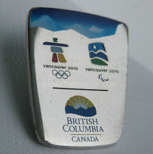 2010 Winter Olympic BC Government Silver Pin