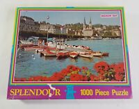 Splendour Jigsaw Puzzle Ingham Day Lucerne Boats Switzerland 1000 Piece