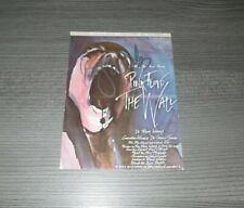 Roger Waters Pink Floyd - The Wall, Original Signed Autographcard 3 7/8x5 7/8in