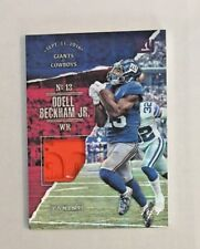 2017 Panini Father's Day Giants Odell Beckham Jr Dated HyperPlaid Pylon 1 of 1