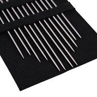 24Pcs Self Threading Thread Needles Home Tools Pins Assorted Hand Stitches DIY
