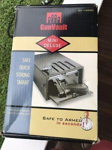 Gun Vault model GV1000D Mini Deluxe Vault. Brand New In Sealed Box !