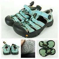 Keen Sandals Newport H2 Toddler Size 10 Aqua Blue Kids Youth Hiking Beach Bungie