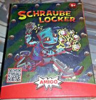 AMIGO Schraube Locker 04943 NEU OVP TOP Kartenspiel Kinderspiel