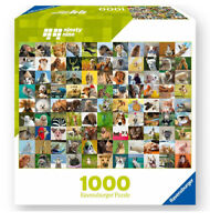 99 Funny Animals 1000 Piece Jigsaw Puzzle by Ravensburger Complete