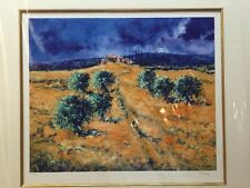 """Kevin Dixon """"HOT WALK"""" 23/195 COA Giclee on paper hand signed by artist 2002"""