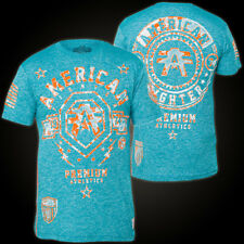 AMERICAN FIGHTER Affliction T-Shirt Hanover Blau T-Shirts