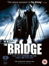 The Bridge - Series 1 (DVD) (2013) Kim Bodnia