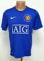 MANCHESTER UNITED 2008/2009 THIRD FOOTBALL SHIRT JERSEY NIKE SIZE S ADULT