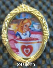 Disney DLR Oval Character of the Month - April Alice in Wonderland PIn