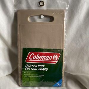 "Coleman Lightweight Cutting Board 6""x10""x3/8""  unused in original package.  Tan"