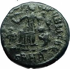THEODOSIUS I the GREAT 388AD Authentic Ancient Roman Coin VICTORY ANGEL i66414
