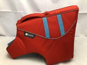 Ruffwear Dog Life Jacket Float Coat Safety Vest/Preserver Sockeye Red Small