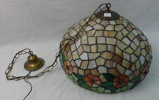 Leaded Shade Collectible Ceiling Light Fixtures For Sale Ebay