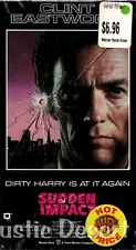 Sudden Impact (VHS 1990) Clint Eastwood, Sondra Locke (new unopened)