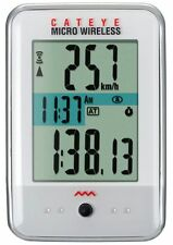 CatEye Computadora de la bici Micro Wireless CC-MC200W blanco