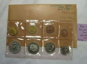 RARE 1967-G 8 Coin PROOF Set. Germany. Scant 3630 Mintage.