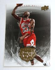 Michael Jordan UD 2009 GOLD Legacy 1991 playoff Official Insert Basketball card