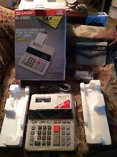 Sharp EL-2192C Electronic Printing Calculator With Tax Function NIB