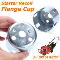 Metal Starter Recoil Flange Cup Silver For Honda GX160 GX200 Engines 4.5x6cm
