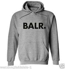 Mens Women Sweatshirt Hoodie Coat Hooded Jacket Sweater Pullover Tops BALR New