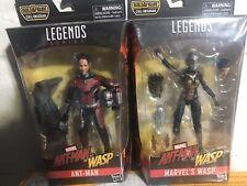 Marvel Legends Avengers Lot: Ant-Man and Wasp (Cull Obsidian BAF)