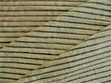 3 Yards of Medium Weight Striped Chenille Upholstery Fabric ~ Pillows Chairs