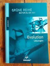 Grüne Reihe (Biologie) Materialien S II -  Evolution Lösungen (Lehrermaterial)