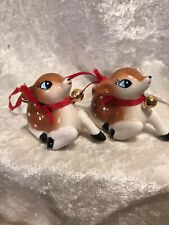 Retro Style Ceramic Christmas Ornaments