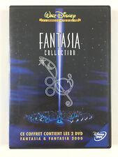 2 DVD Fantasia Collection : Fantasia + Fantasia 2000 / Walt Disney