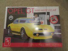 AMT Opel GT Mini-Muscle Car Oringinal Art Series Kit 1:25 Scale MISB Sealed