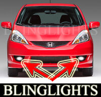 Xenon Halogen Fog Lamps lights for 2007-2011 Honda Fit 07 08 sport