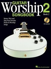 Guitar Worship Method Songbook 2 - Guitar Collection Book and CD NEW 000701082