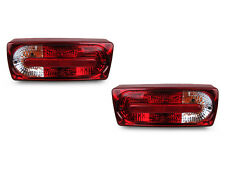 DEPO 1990-2006 Mercedes Benz W463 G Class G Wagon Red/Clear Rear Tail Lights New