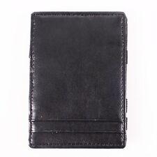 BLACK MAGIC WALLET ORGANIZER, MONEY, RECEIPT, CARD HOLDER Faux Leather BSM