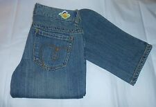 Roxy Cardiff Girls Straight Fit Denim Jeans Blue Sixteen (16) NWT